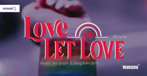 Pride Party - Love and let Love  @ Manasia Hub