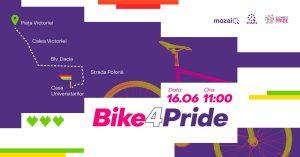 Bike4Pride @ punct de întâlnire: Piața Victoriei