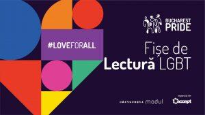 Fișe de lectură LGBT  @ Cărturești Modul