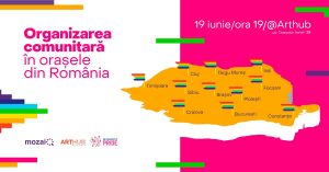 Organizare comunitară în orașe din RO  @ Art Hub